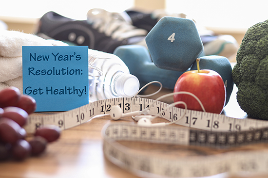 2020 Healthy New Year's Resolutions